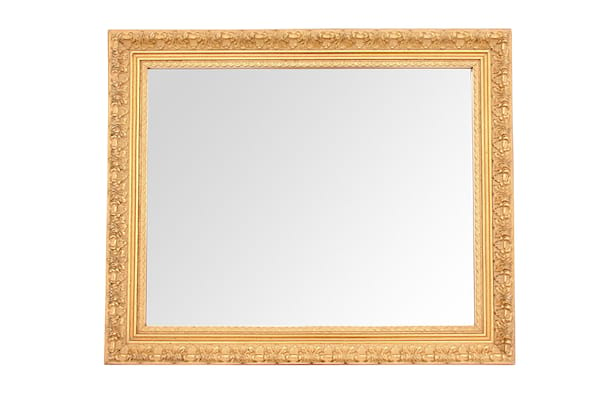 The Albany: Medium Gold Mirror