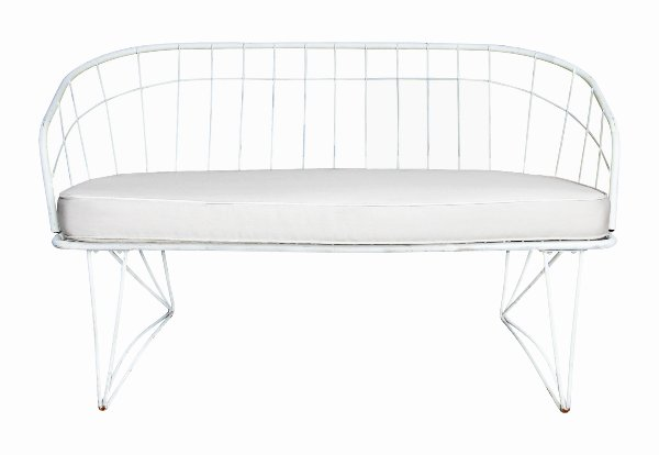 The Gibson: Midcentury Wire Loveseat