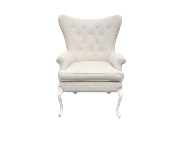The Cora: Linen Chair