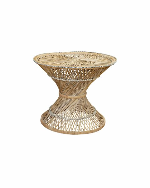 The Arrow: Rattan Coffee Table