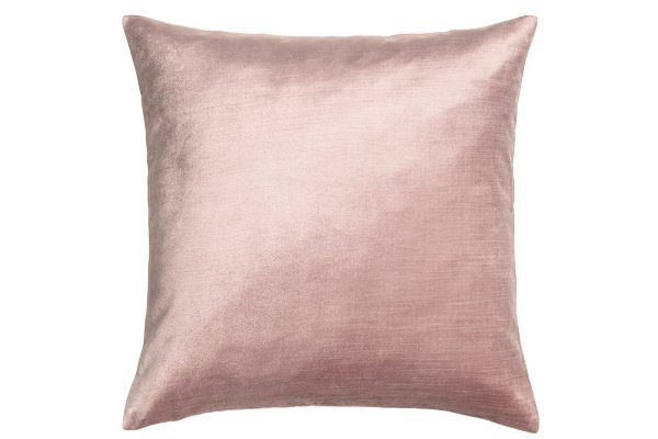 The Flora: Blush Velvet Pillows