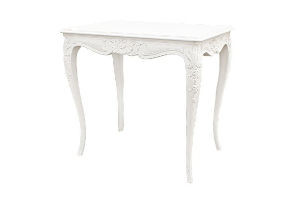 Winifred White Side Table