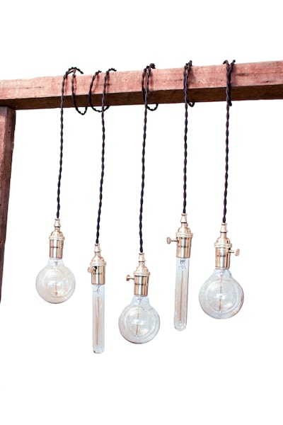 The Edison: Industrial Pendant Lights