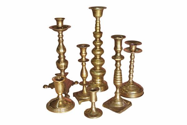 The Lumiere: Brass Candlesticks