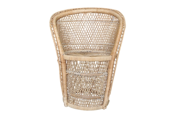 The Lunet: Petite Rattan Chair