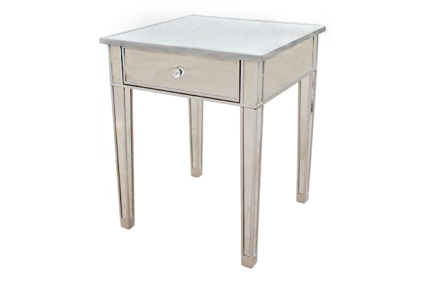 Rihannon: Mirrored Side Table