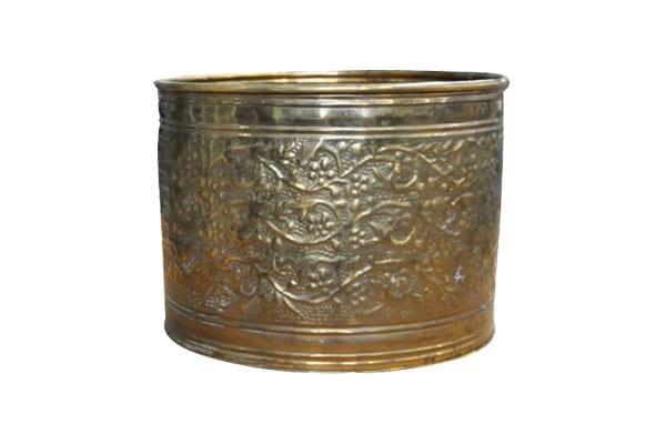 The Hedera: Medium Bronze Pot
