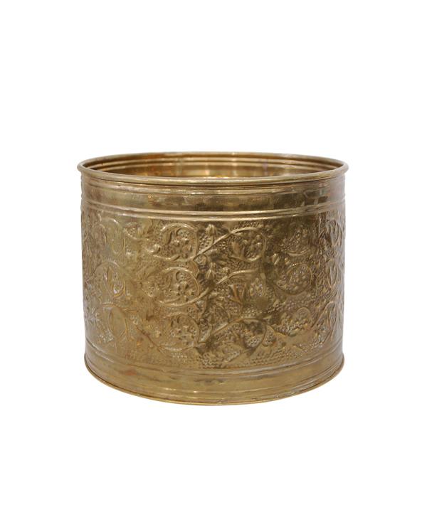 The Maia: Brass Pot