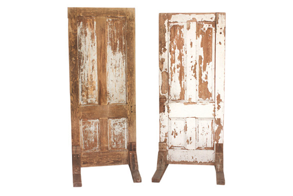The Sweet Root Doors Set : Antique Wood Doors