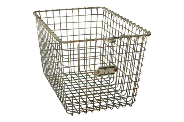 The Des Moines: Metal Basket