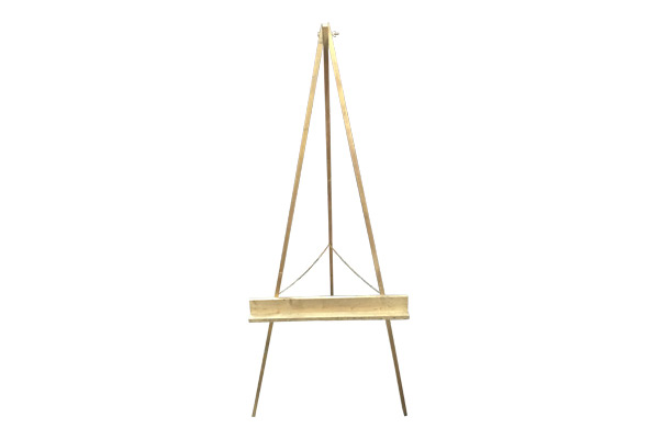The Michelangelo: Large Gold Easel