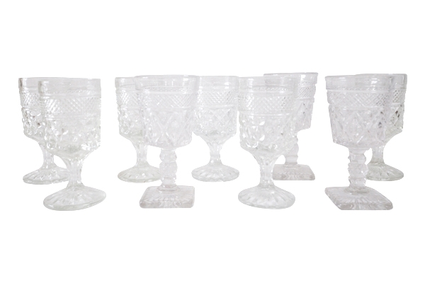 Clear Cordial Glasses