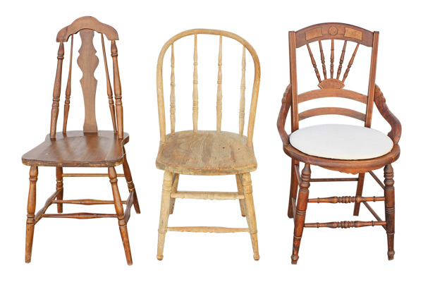 The Hamilton Mixed Vintage Chairs
