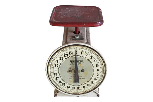 The Brightwood: Antique Kitchen Scale