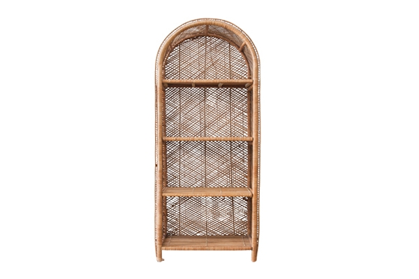 The Bryn: Rattan Shelf
