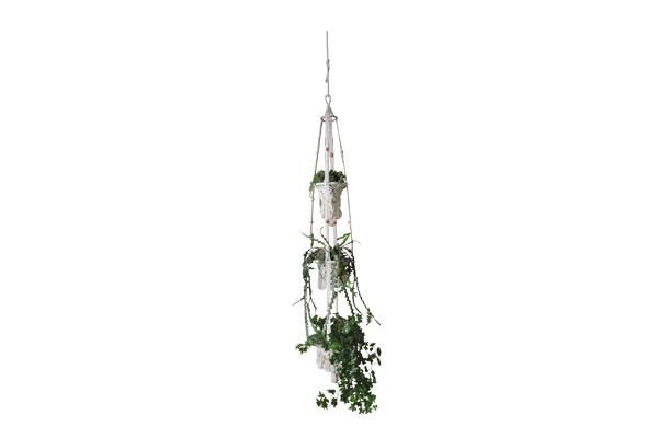The Isidora: 3-Tier Macrama Plant Hanger