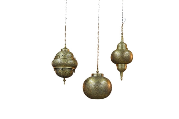 The Samira: Mixed Brass Moroccan Lanterns