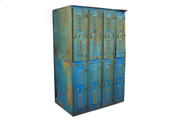 The Lowell: Vintage Metal Lockers