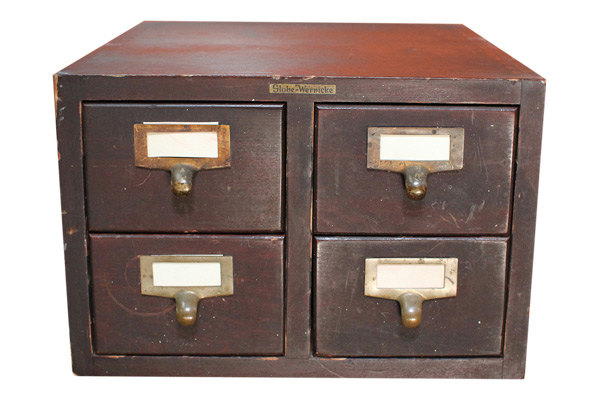 The Devin: Card Catalog