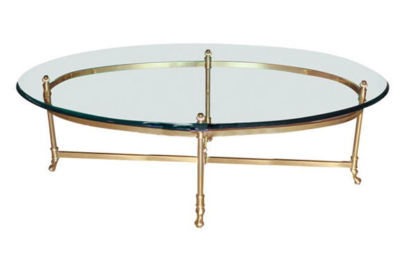 The Eden: Brass Coffee Table