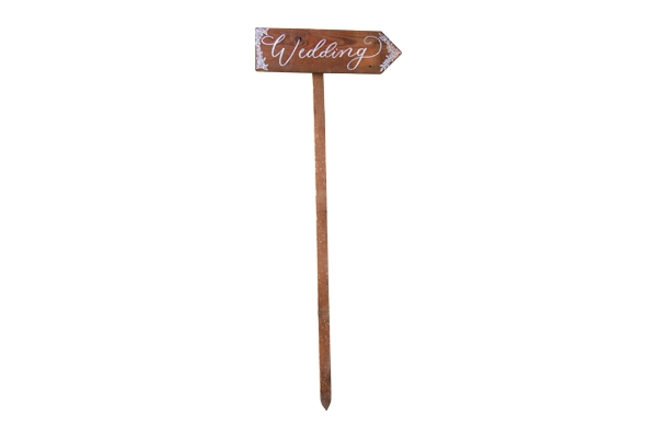 Wedding Reclaimed Wood Arrow