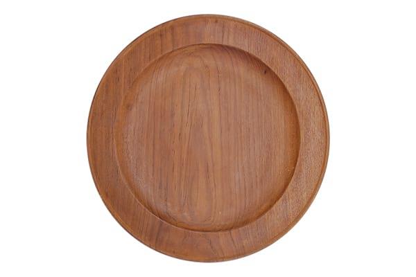 The Alder: Teak Charger/Dinner Plates