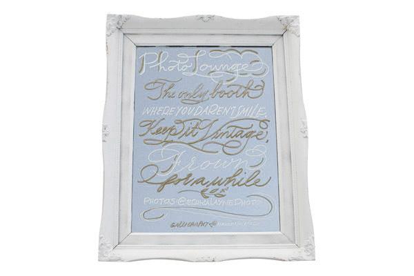 The Monroe Small White Mirror