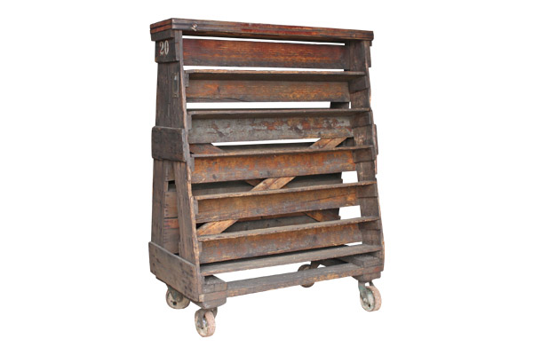 The Richmond : Wood Factory Cart