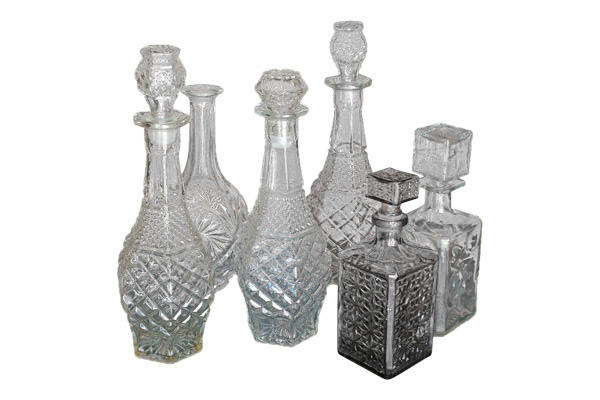 The Sterlings: Vintage Decanters