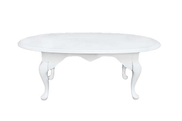 The Myrtle: White Coffee Table