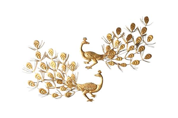 The India: Gold Peakcocks