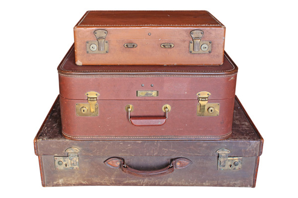 The Balboa Vintage Suitcases