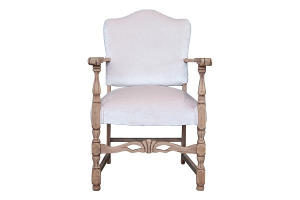 The Tallulah: Blush Velvet Side Chair