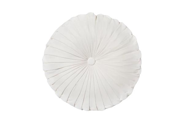 The Alpine: Velvet Ivory Pinwheel Pillows