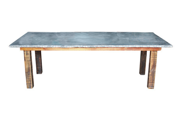 The Charm City: Zinc Farm Tables