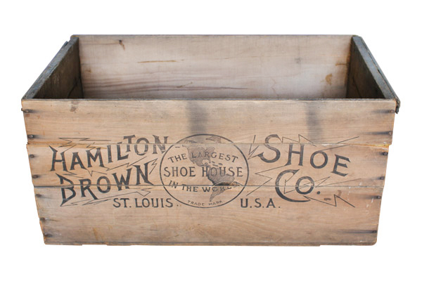 The St Louis : Wooden Crate