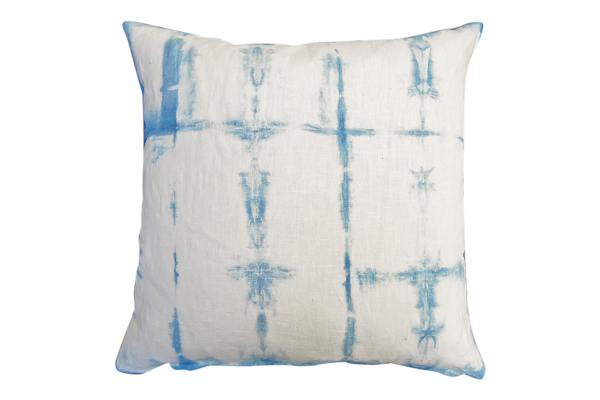 The Pacific: Shibori Dyed Pillows