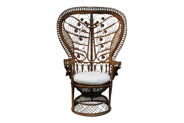 The Sage: Rattan Peacock Chair