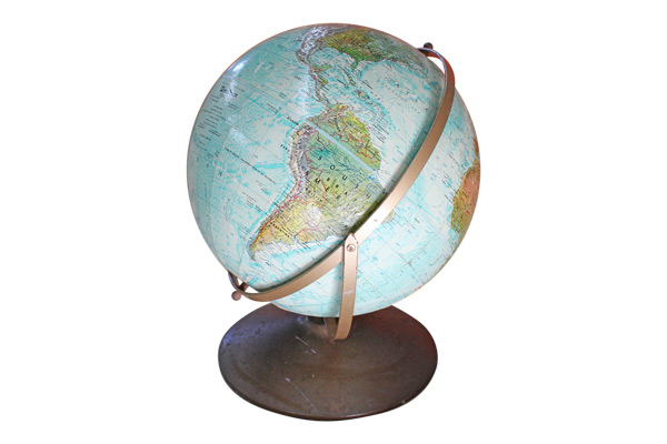 The Parsons Vintage Globe