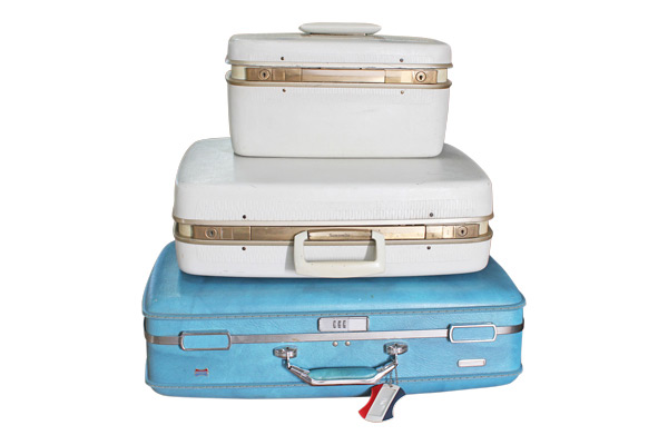 The Blanche : Midcentury Suitcases