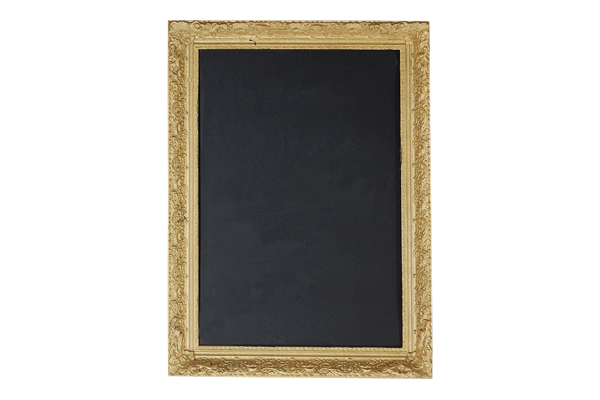 The Mystic: Gold Chalkboard