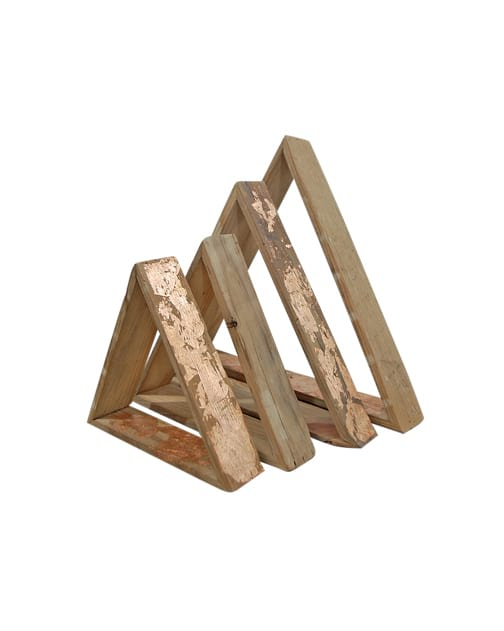 The Huxleys: Wooden Triangles