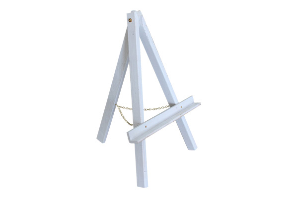 The Vermeer Small White Easel