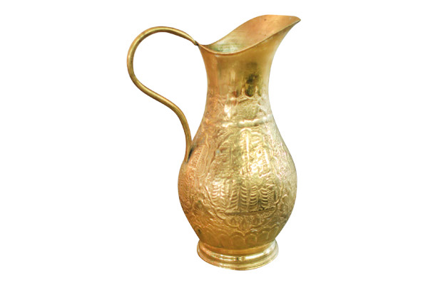 The Diana: Brass Pitcher