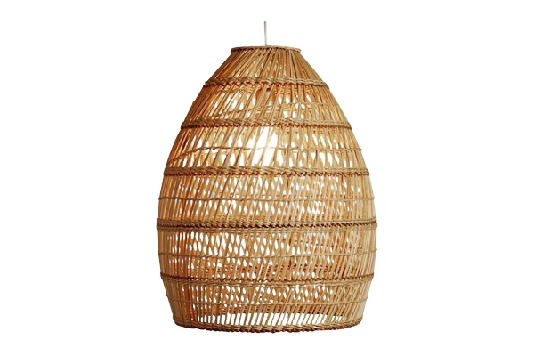 The Dandelion: Wicker Hangining Light