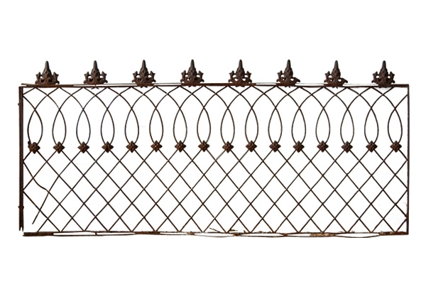 The Lennox: Wrought Iron Fence