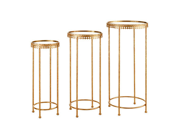 The Penelope: Gold Nesting Tables