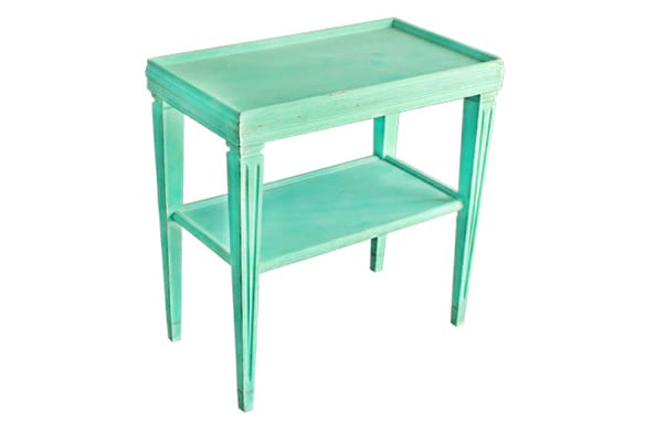 The Toto: Aqua End Table