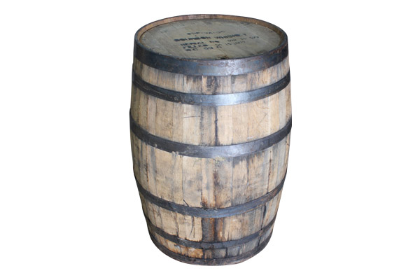 The Garrisons: Antique Wine/Whiskey Barrels