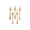 Jolee Vintage Gold-Plated Dinner Fork